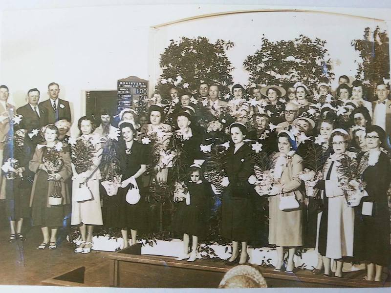Trinity Methodist Church - Mother's Day 1945