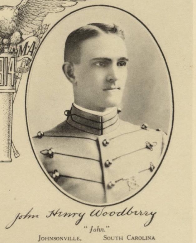 John Henry Woodberry, 1914