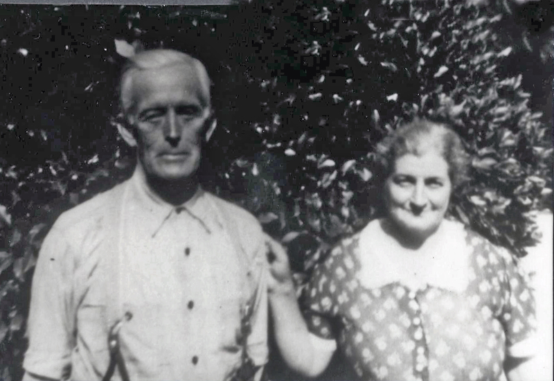 John Briley Altman and Ethel Cox Altman.