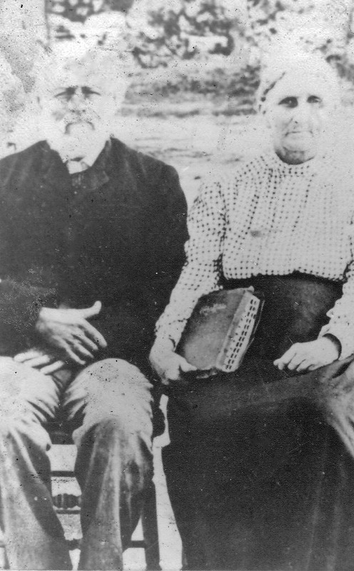 "William James ""Billy"" Cox and Sarah Jane Stone Cox"
