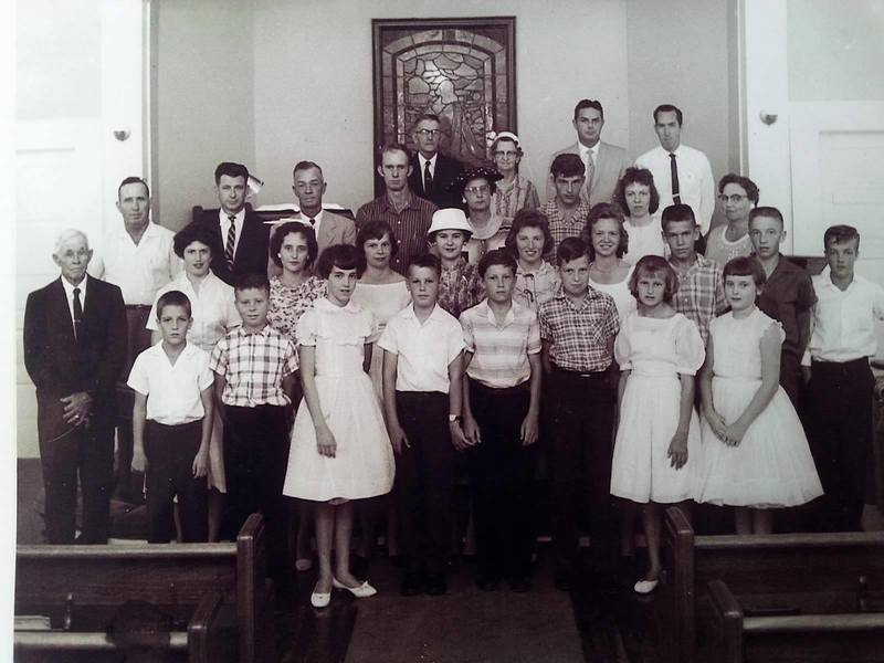 Trinity Methodist Church youth, 1956