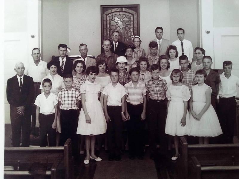 Trinity Methodist Church youth, 1956