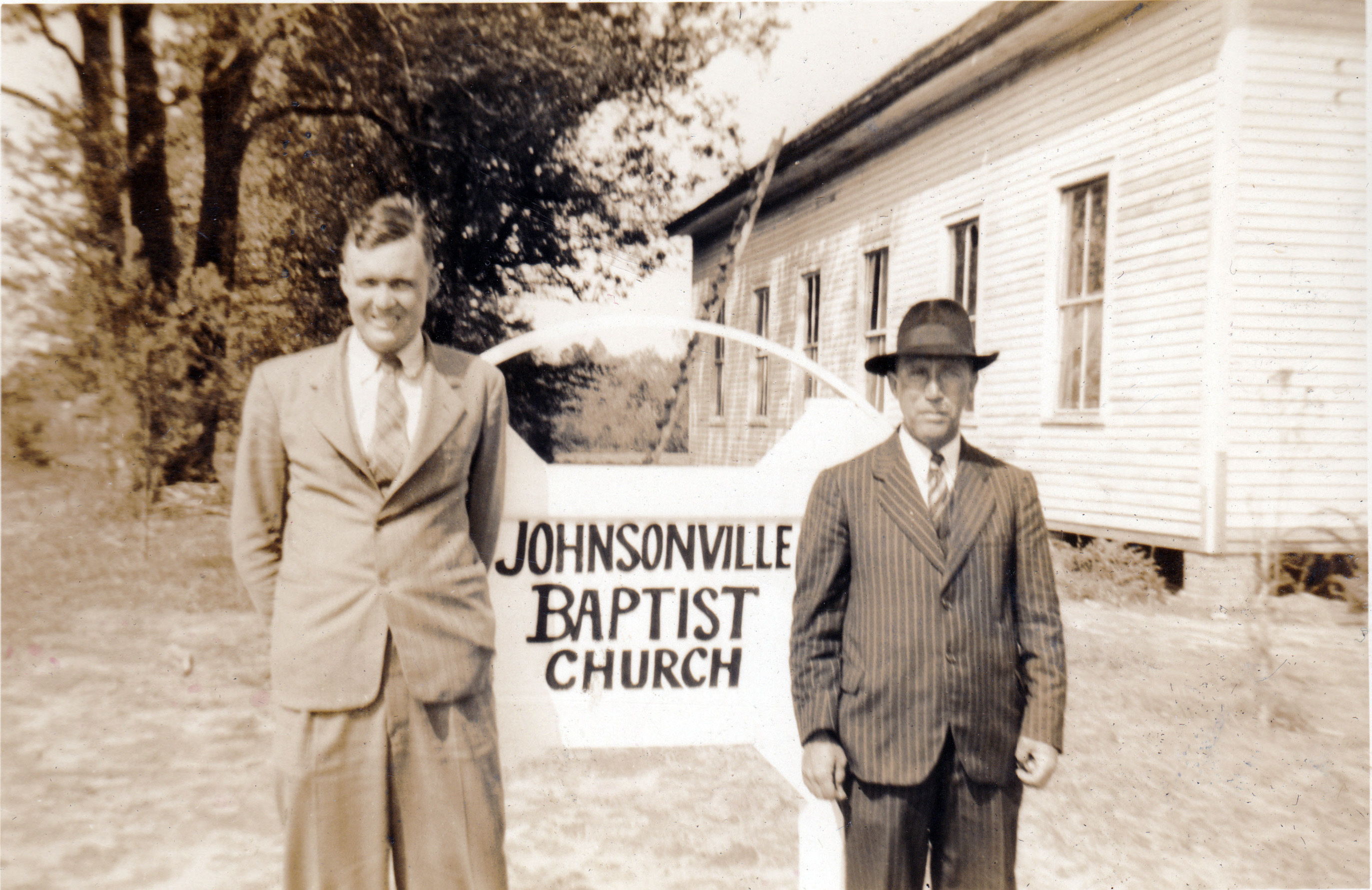 William Hanna and James Bubba Hanna - Johnsonville First Baptist Church