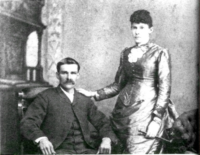 Judith Crosby Grier and husband Zachary Taylor Eaddy