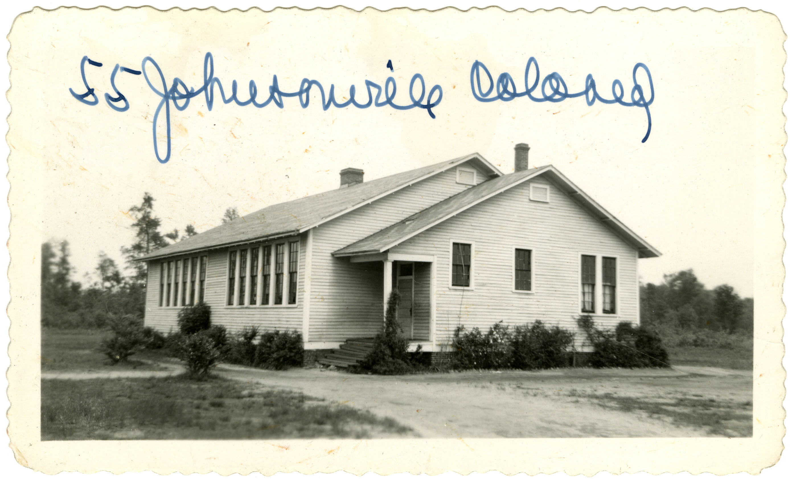 The Johnsonville Colored School