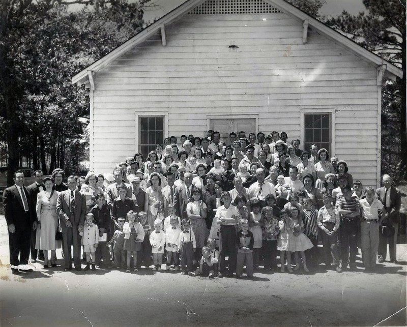 Rehobeth Church, 1954
