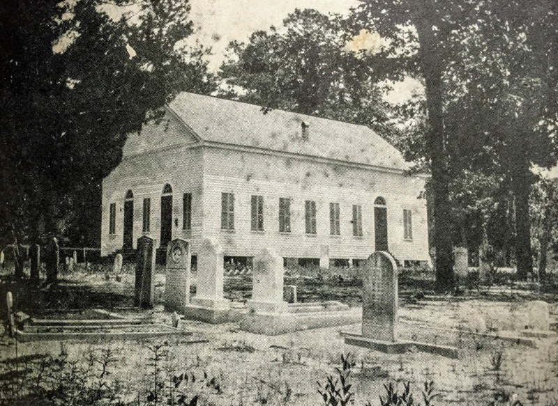 Indiantown Presbyterian Church, 1900