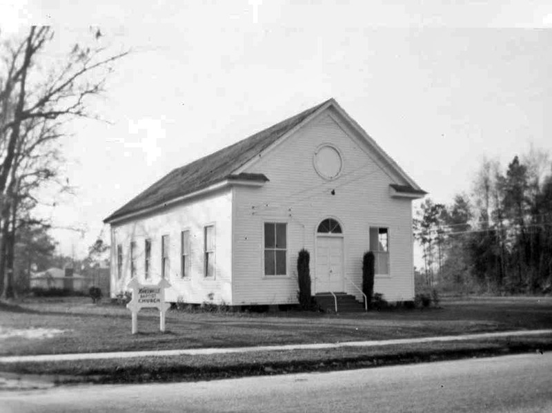 Johnsonville First Baptist Church - old building