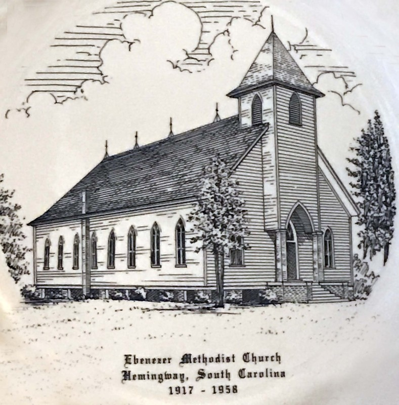 Ebenezer United Methodist Church engraving