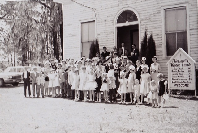 Johnsonville First Baptist Church - old building