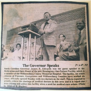 The Governor Speaks - 1977