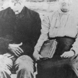 "William James ""Billy"" Cox and Sarah Jane Stone Cox"