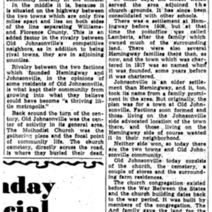 Founding of Rival Towns Kept First Community From Growing - News and Courier - 1951.pdf