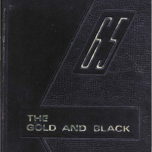 Gold and Black 1965
