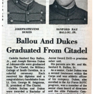 Ballou and Dukes Graduated from Citadel WO 5-18-78.pdf