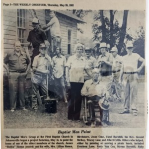 Baptist Men Paint, Weekly Observer, 5-20-1982.pdf