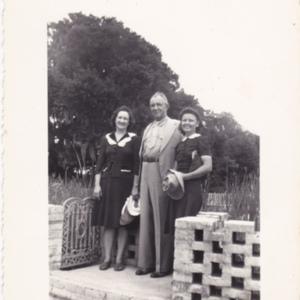 Fairalee Johnson Poston (left)