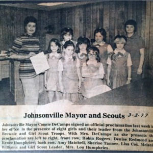 Mayor and Scouts, Weekly Observer, 3-3-1977.pdf