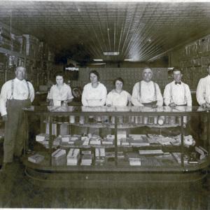 S.B. Poston's store, late 1920s