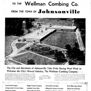 Johnsonville Welcomes Wellman - Tues Nov 8 1955 - News and Courier.pdf
