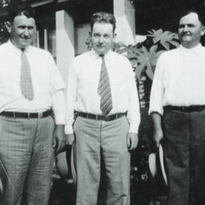 Mr. Fiver, Dr. Ulmer, O.G. Huggins, August 15, 1929.jpg