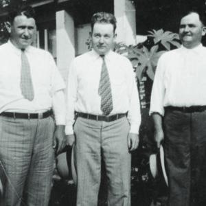 Mr. Fiver, Dr. J. G. Ulmer, O.G. Huggins, 1929