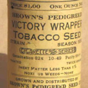 Brown's Tobacco Seed