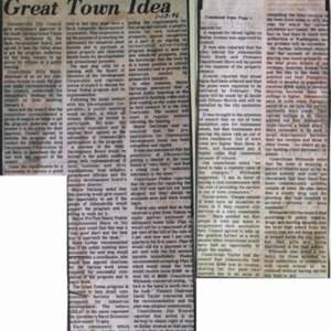 Council Endorses Great Town Idea, Weekly Observer, 1-13-1976.pdf