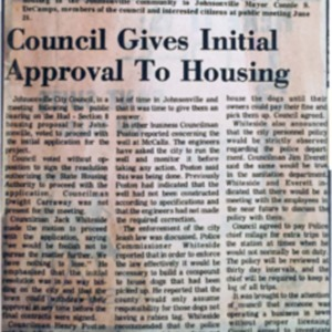 Council Approval to Housing, Weekly Observer, 7-1-1976.pdf
