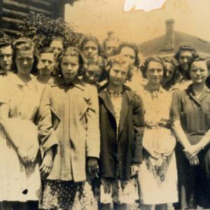 Sophomore Girls 1939