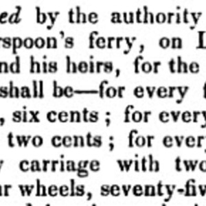 Witherspoon's Ferry vested in John Witherspoon 1801.jpg
