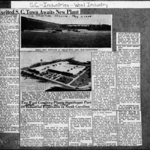 Excited SC Town Awaits New Plant - Charlotte Observer 2 May 1956.pdf