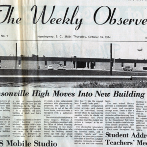 The Weekly Observer 1974
