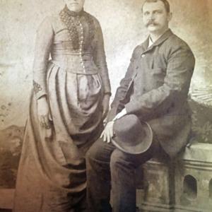 Franklin Evander Hanna and Julia Grier Hanna