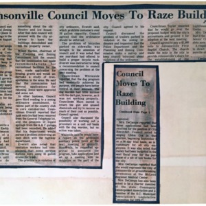 Johnsonville Council Moves to Raze Building.pdf