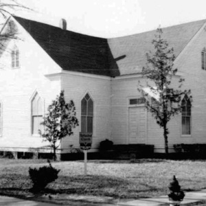 Old Johnsonville Methodist Church - where city park is now Broadway at Hwy 41.jpg