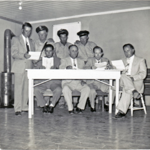 Johnsonville City Officials, 1950s