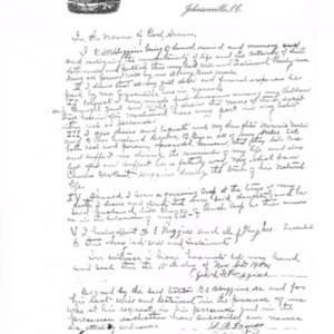 George Samuel Briley Huggins Will -  Farmers & Merchants Bank Letterhead.jpg