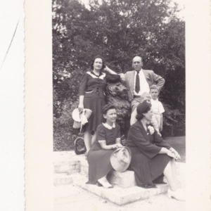 Percy, Fairalee, and Delance Poston