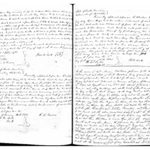 Last Will and Testiment of William James Johnson, 1850