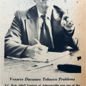 Venters Discusses Tobacco Problems WO 11-29-73.pdf